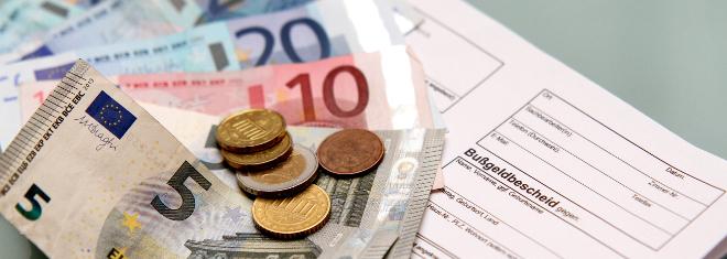 Bußgeldbescheid: Welche Gebühr ist angemessen?