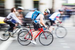 Das Flensburger Punktesystem greift auch bei Fahrradfahrern.