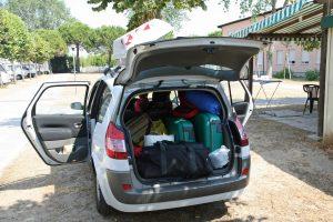 Bei einer Polizeikontrolle darf nur bei Gefahr in Verzug der Kofferraum durchsucht werden