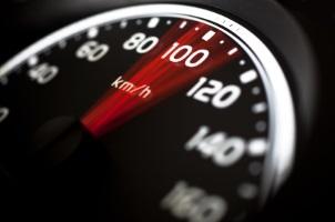Die Punktetabelle kommt auch bei Geschwindigkeitsüberschreitungen zum Einsatz.