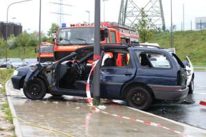 Es muss sich nicht immer um einen Totalschaden handeln: Unfallflucht bei einem Bagatellschaden wird ebenfalls bestraft.